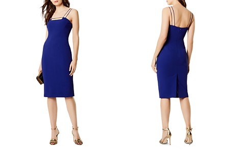 KAREN MILLEN Strappy Sheath Dress - Bloomingdale's_2