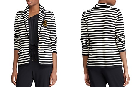 Lauren Ralph Lauren Striped Knit Blazer - Bloomingdale's_2