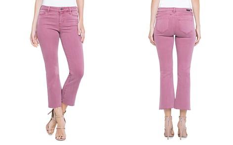 Liverpool Hannah Crop Flare Jeans in Roan Rouge - Bloomingdale's_2