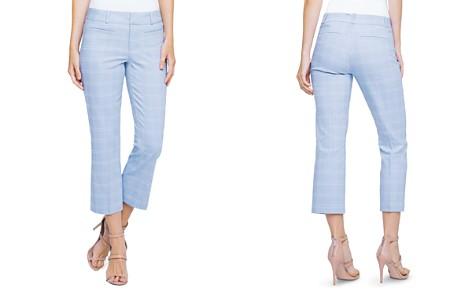 Liverpool Vera Windowpane Straight Crop Pants - Bloomingdale's_2