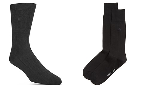 Cole Haan Ribbed Dress Socks - Bloomingdale's_2