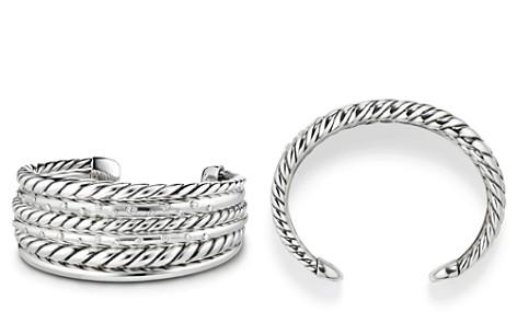 David Yurman Pure Form Cuff Bracelet with Diamonds - Bloomingdale's_2