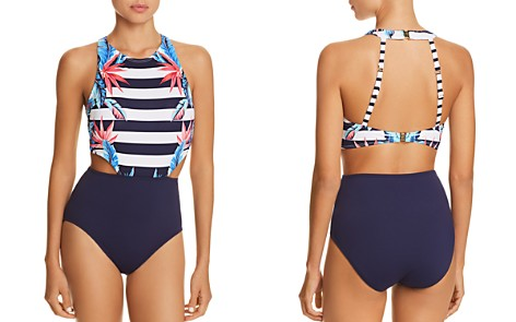 Tommy Bahama Palms High Neck One Piece Swimsuit - Bloomingdale's_2