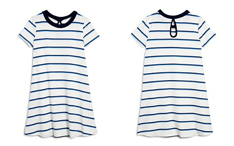 AQUA Girls' Striped & Ribbed T-Shirt Dress, Big Kid - 100% Exclusive - Bloomingdale's_2