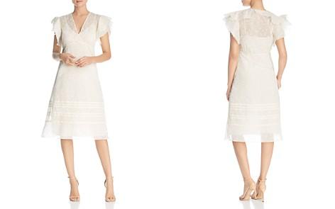 Tory Burch Susanna Daisy-Print Flutter Dress - Bloomingdale's_2