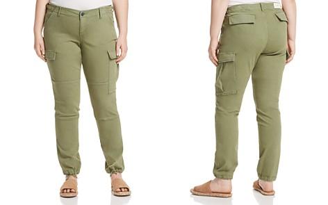 SLINK Jeans Plus Twill Cargo Jogger Pants - Bloomingdale's_2