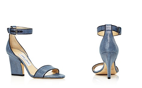 Jimmy Choo Women's Edina 85 Metallic Denim High-Heel Sandals - Bloomingdale's_2