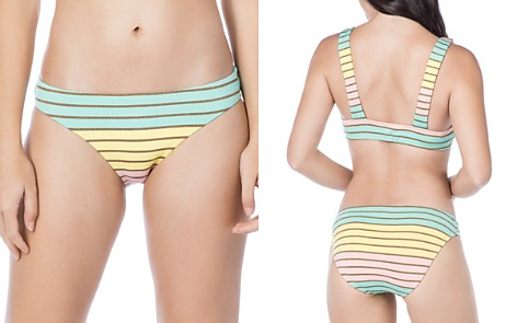 Trina Turk Lurex Stripe Hipster Bikini Bottom - Bloomingdale's_2