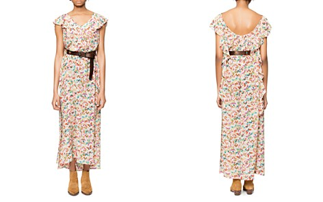 Zadig & Voltaire Reen Butterfly Silk Maxi Dress - Bloomingdale's_2