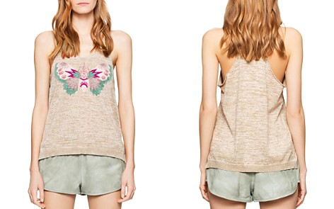 Zadig & Voltaire Mili Bis Butterfly Tank - Bloomingdale's_2