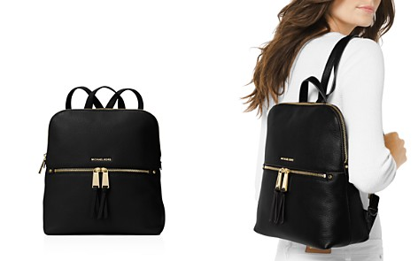 MICHAEL Michael Kors Rhea Medium Zip Leather Backpack - Bloomingdale's_2