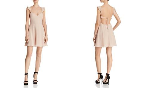 FORE Ruffle Sleeve Dress - Bloomingdale's_2