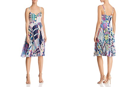 Parker Magna Geo-Print Dress - Bloomingdale's_2