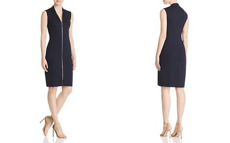 Elie Tahari Verdie Zip-Front Dress - Bloomingdale's_2