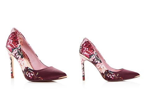 Ted Baker Women's Kawaap Floral Print Satin Pointed Toe Pumps - Bloomingdale's_2