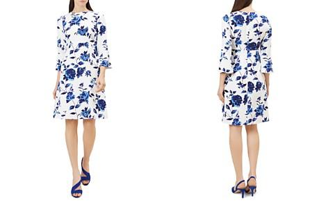 HOBBS LONDON Safia Floral Print A-Line Dress - Bloomingdale's_2