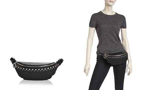 Rebecca Minkoff Crystal Studded Nylon & Leather Convertible Belt Bag - Bloomingdale's_2