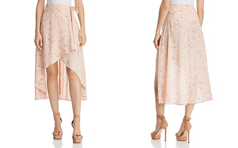 FORE Floral Wrap Skirt - Bloomingdale's_2