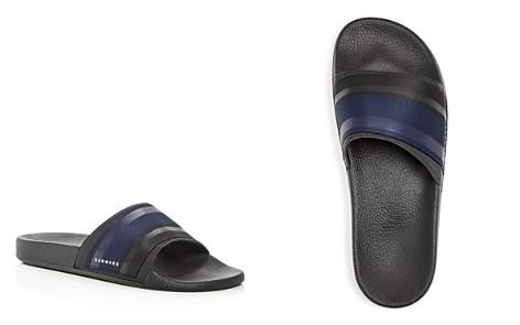 Danward Men's Tonal Stripe Slide Sandals - Bloomingdale's_2