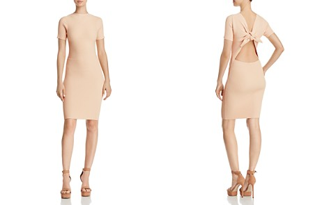 Olivaceous Tie-Back Rib-Knit Dress - Bloomingdale's_2