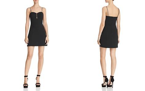 JOA Strappy Bustier Dress - Bloomingdale's_2