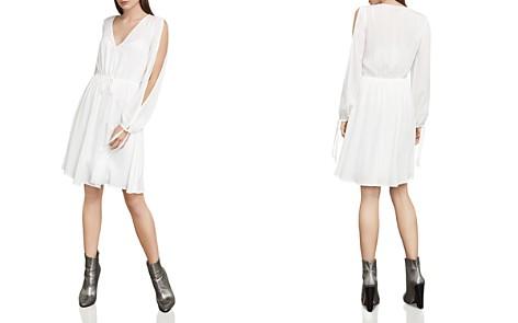 BCBGMAXAZRIA Cooper Slit-Sleeve Dress - Bloomingdale's_2