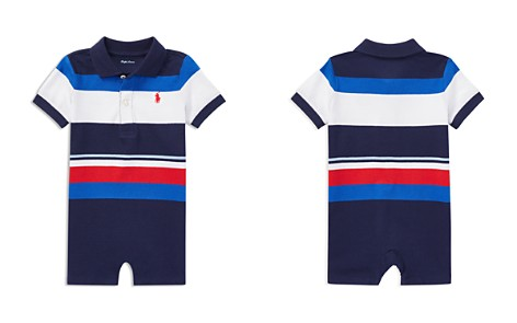 Ralph Lauren Boys' Jersey Striped Polo Shortall - Baby - Bloomingdale's_2