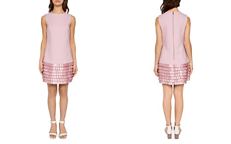 Ted Baker Marggia Pleated Satin Dress - Bloomingdale's_2