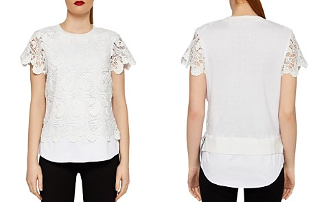 Ted Baker Kitta Layered-Look Lace Top - Bloomingdale's_2