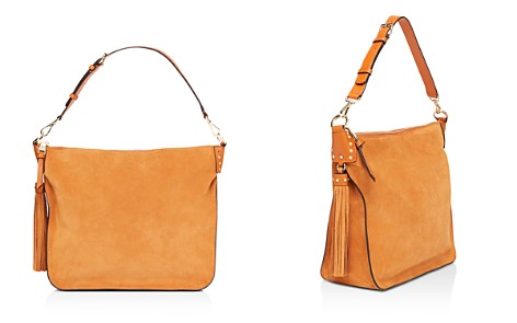 Sandro Masha Suede Shoulder Bag - Bloomingdale's_2