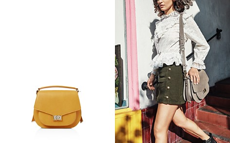 The Kooples Emily Maxi Leather Saddle Bag - Bloomingdale's_2