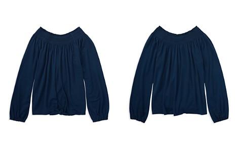 Polo Ralph Lauren Girls' Smocked Top - Big Kid - Bloomingdale's_2
