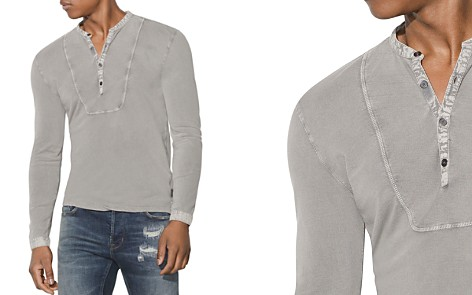 John Varvatos Star USA Faded Henley - Bloomingdale's_2