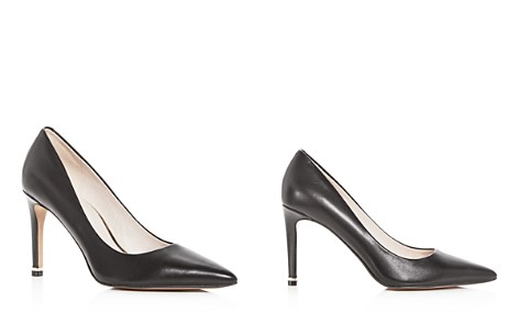 Kenneth Cole Women's Riley Pointed Toe Leather High-Heel Pumps - Bloomingdale's_2