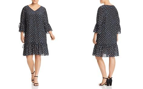 Lafayette 148 New York Plus Anagrace Geo Silk Dress - Bloomingdale's_2