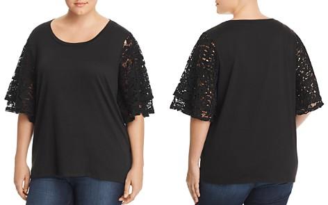 Love Scarlett Plus Lace-Sleeve Top - 100% Exclusive - Bloomingdale's_2