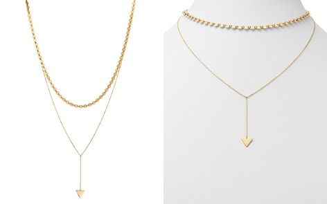 "Moon & Meadow Layered Choker Necklace in 14K Yellow Gold, 15"" - 100% Exclusive - Bloomingdale's_2"