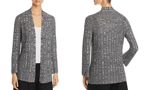 Eileen Fisher Melange Stripe Cardigan - Bloomingdale's_2