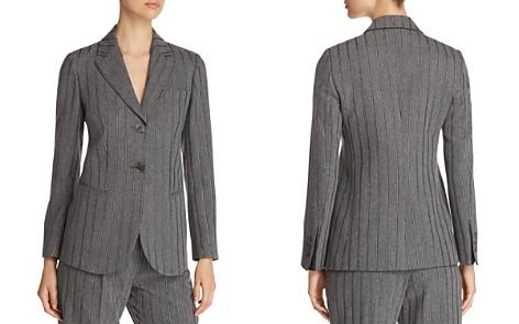 Emporio Armani Two-Button Metallic Stripe Blazer - Bloomingdale's_2
