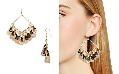 Kendra Scott Raven Feathered Drop Earrings - Bloomingdale's_2