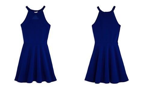 Sally Miller Girls' Textured Knit Mesh-Cutout Dress - Big Kid - Bloomingdale's_2