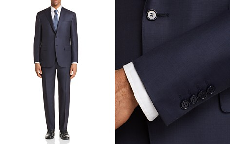 Canali Sharkskin Classic Fit Suit - Bloomingdale's_2