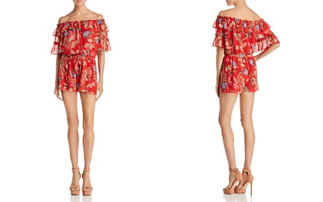 WAYF Jasper Ruffled Off-the-Shoulder Romper - Bloomingdale's_2