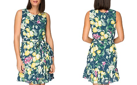 B Collection by Bobeau Amina Sleeveless Floral-Print Dress - Bloomingdale's_2