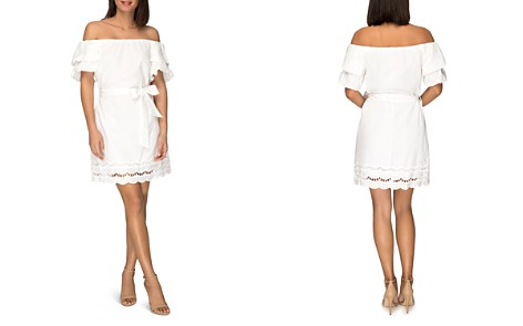 B Collection by Bobeau Diem Off-the-Shoulder Cotton Dress - Bloomingdale's_2