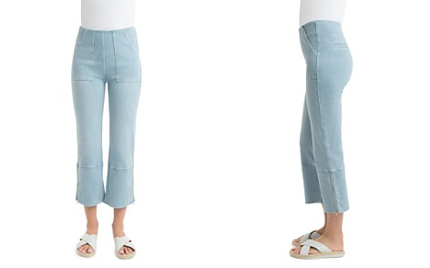 Lyssé Denim Cropped Flare Pants - Bloomingdale's_2