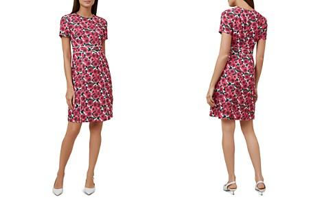 HOBBS LONDON Livia Ladder-Inset Floral Print Dress - Bloomingdale's_2