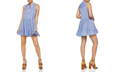 BCBGeneration Sleeveless Stripe A-Line Dress - Bloomingdale's_2