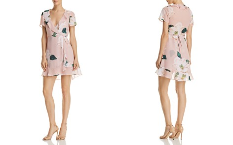 Show Me Your MuMu Winnie Floral Wrap Dress - Bloomingdale's_2