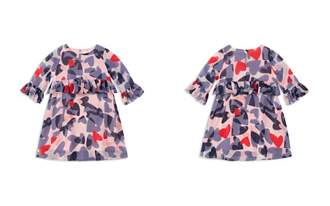 kate spade new york Girls' Confetti Hearts Peplum Dress - Little Kid - Bloomingdale's_2